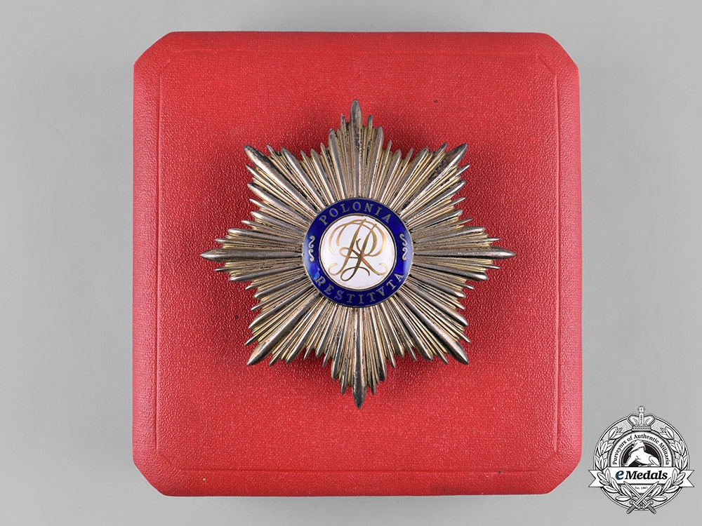 eMedals-Poland, Republic. An Order of Polonia Restituta, Grand Cross Star, by Wiktor Gontarczyk