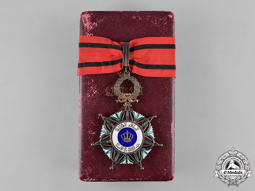 eMedals-Iraq, Kingdom. An Order of the Two Rivers, II Class Commander's Badge, by Arthus Bertrand