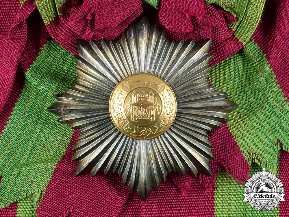 eMedals-Afghanistan, Kingdom. An Order of the Star, II Class Grand Officer's Star, c.1929