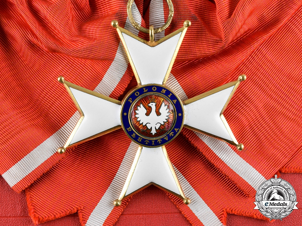 eMedals-Poland, Republic. An Order of Poland Restituta, Grand Cross with Case