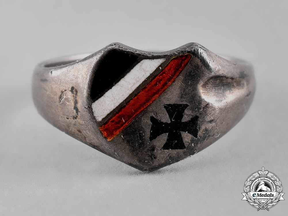 eMedals-Germany, Imperial. An Army Silver Ring