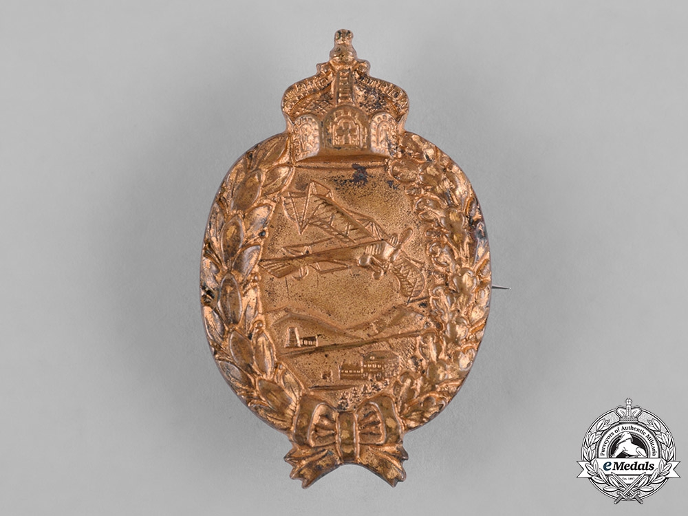 "eMedals-German, Imperial. A Prussian Pilot Badge, ""Prinzen"" Size, c.1917"