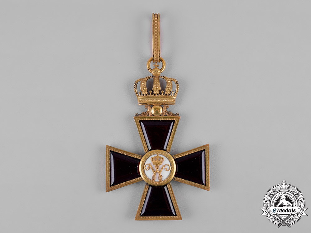 eMedals-Germany, Braunschweig. A Masonic House Order, Commander's Badge, c.1840