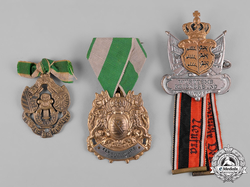 eMedals-Germany, Imperial. A Lot of German Imperial Veterans Badges