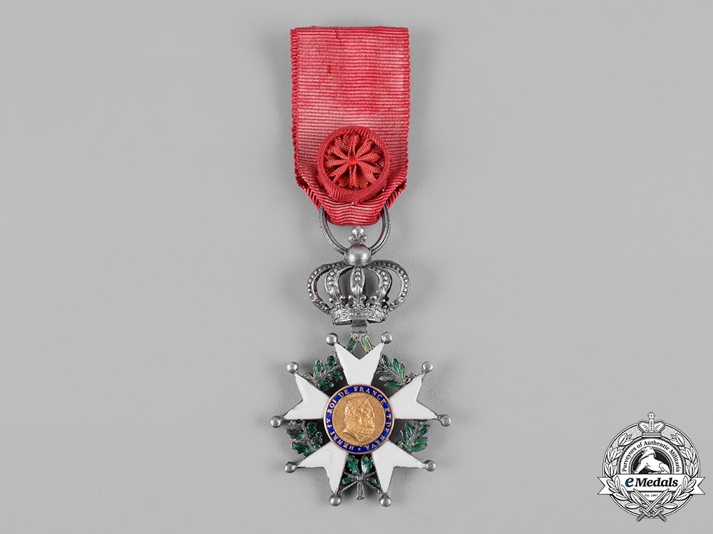 eMedals-France, II Restoration. An Order of the Legion of Honour, Knight, c.1820