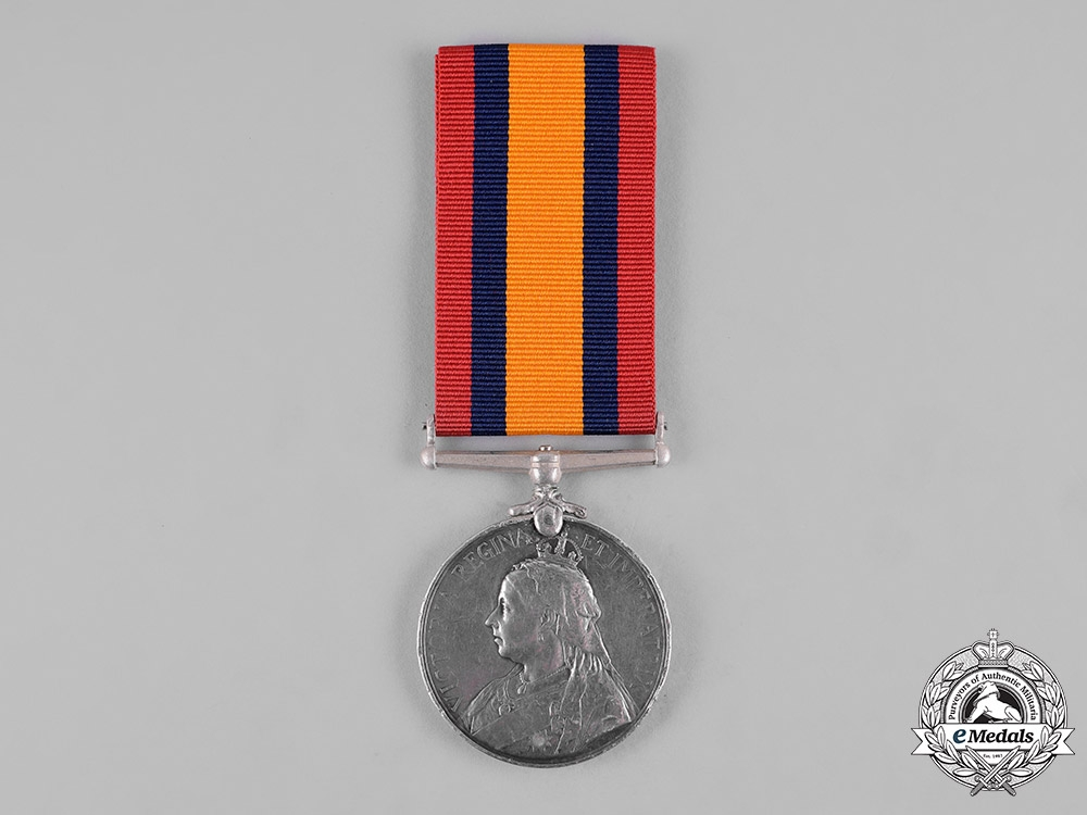 eMedals-United Kingdom. A Queen's South Africa Medal 1899-1902, Cape Government Railways