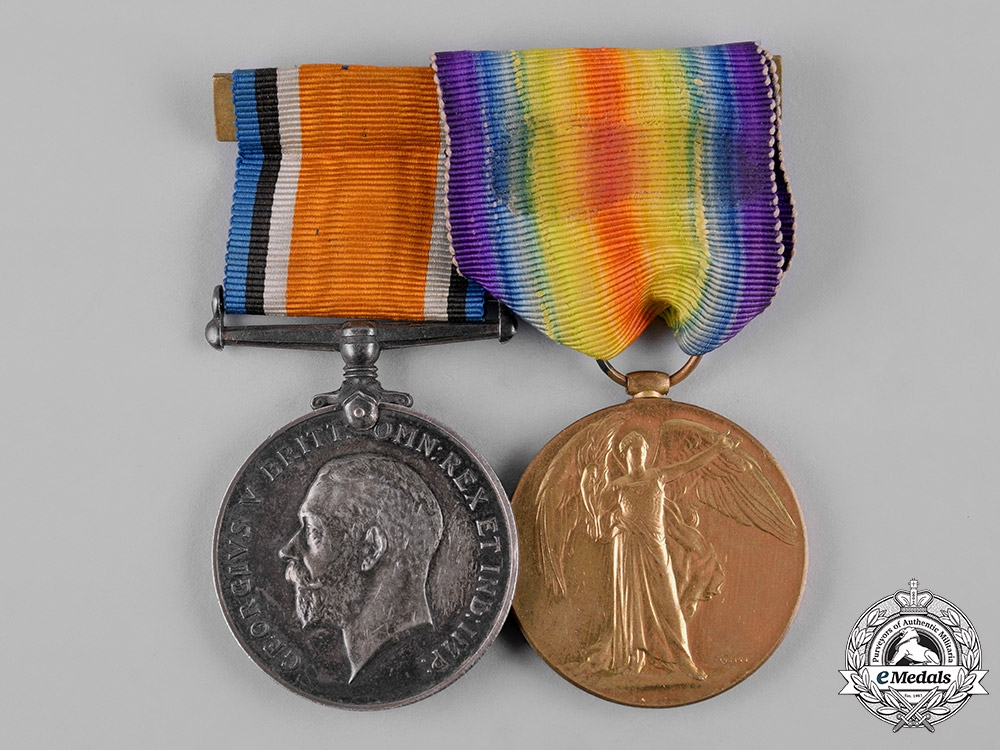eMedals-Canada. A First War Pair, to Private William Henry Harding,  Kootenay Battalion, 54th Infantry Battalion