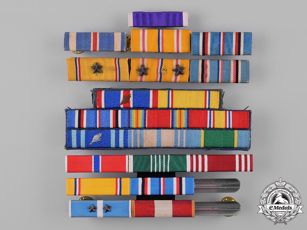 eMedals-United States. A Lot of Ribbon Bars