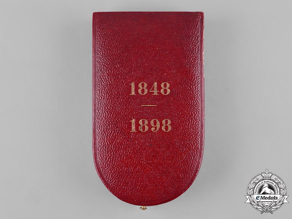 eMedals-Austria, Imperial. An Emperor Franz Joseph 50th Jubilee Medal Case