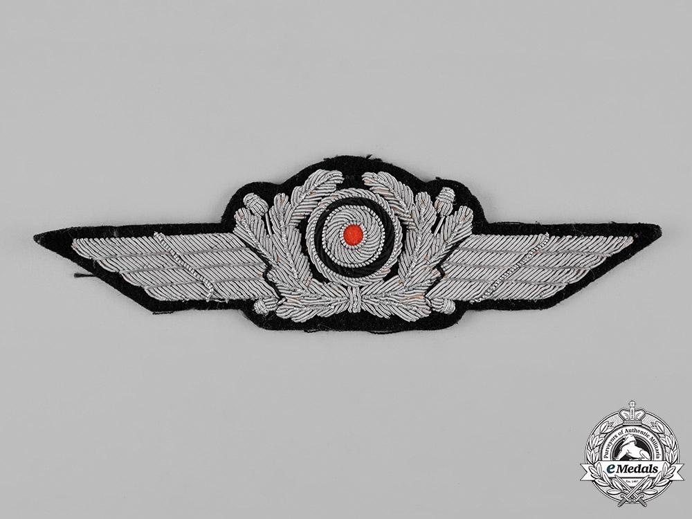 eMedals-Germany, Luftwaffe. A Officer's Visor Cap Insignia