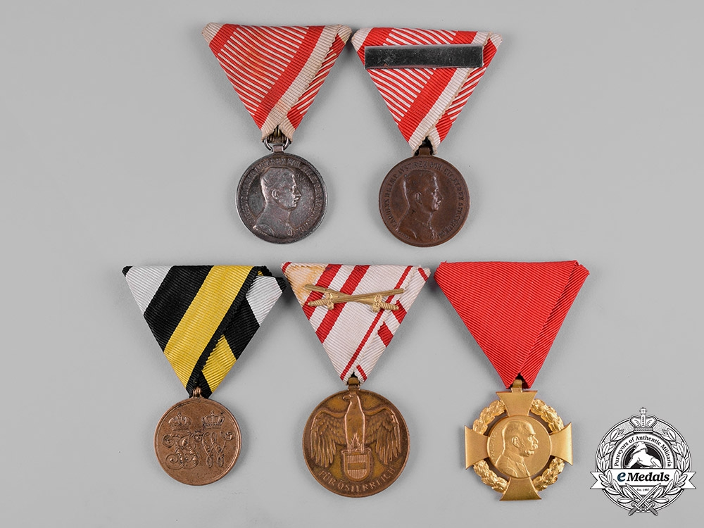 eMedals-Austria, Imperial. A Lot of Medals, Decorations, and Awards