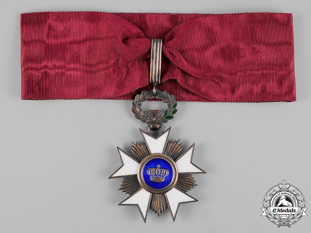 eMedals-Belgium, Kingdom. An Order of the Crown, Commander, c.1910