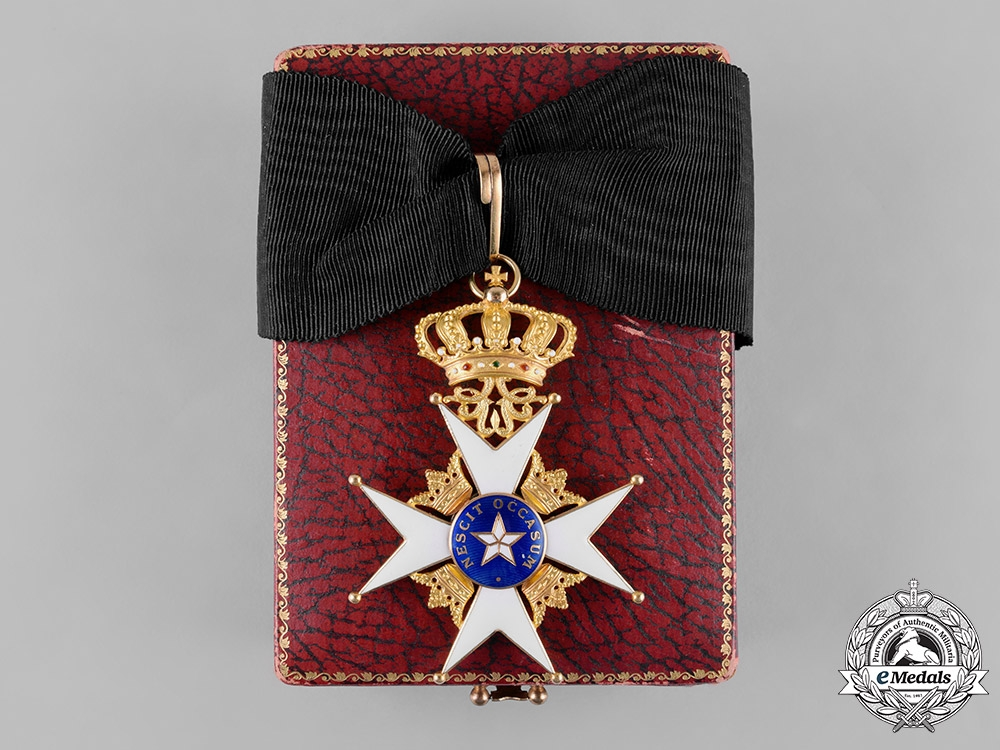 eMedals-Sweden. An Order of the North Star in Gold, Commander, by C.F.Carlman