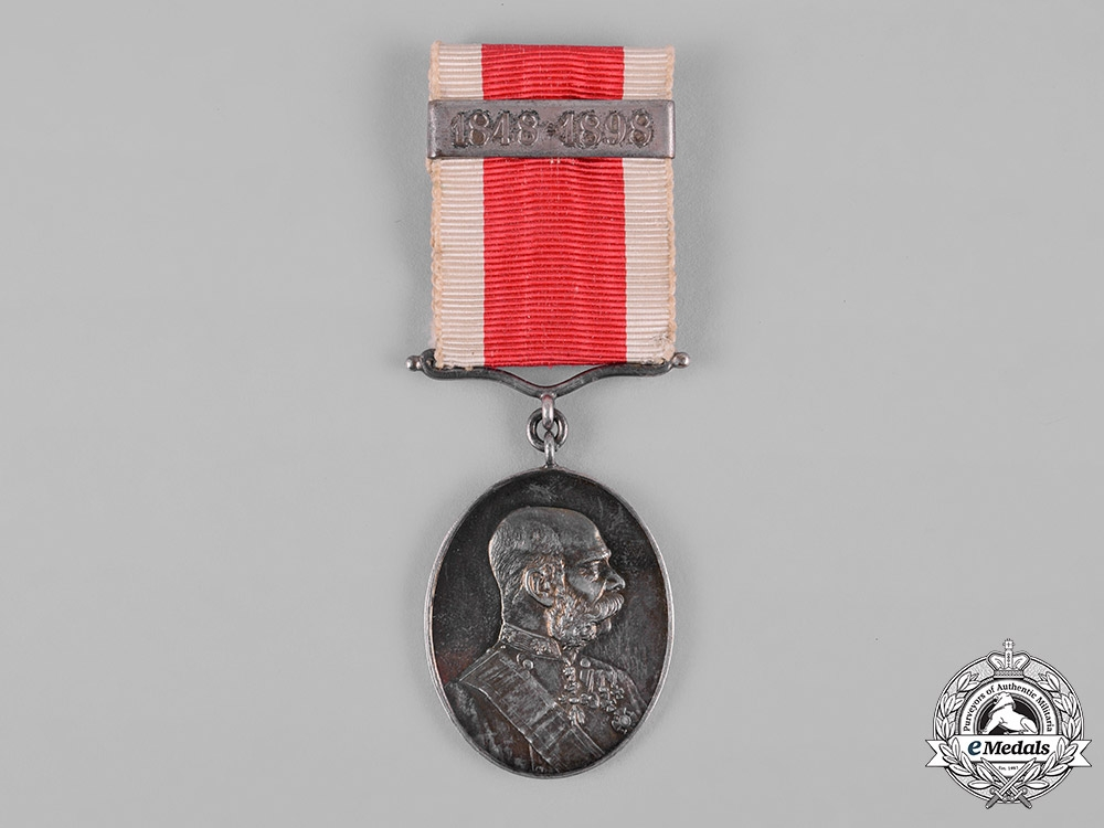 eMedals-Austria, Imperial. An 1898 Silver Civil Court Jubilee Medal