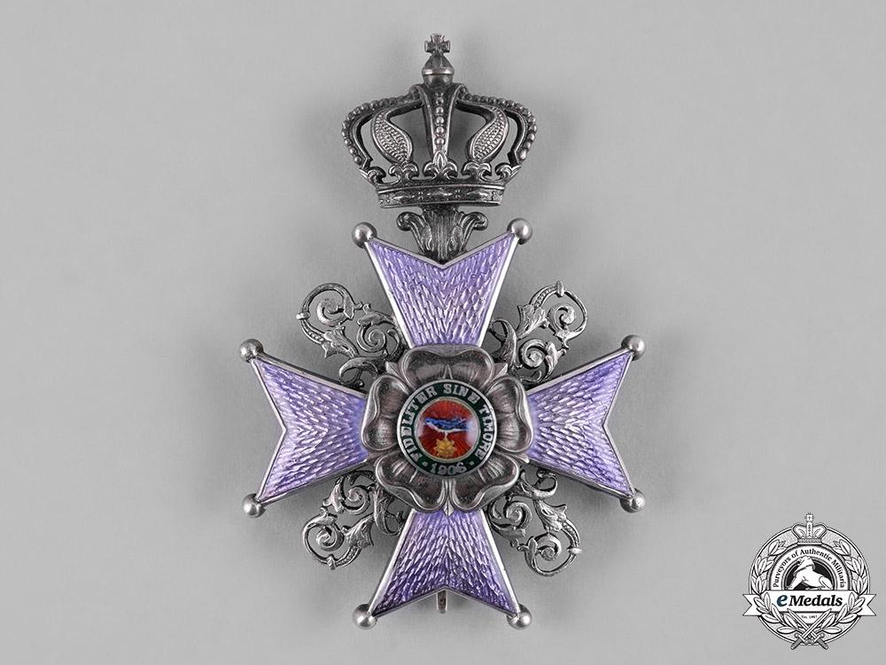 eMedals-Lippe, Principality. An Order of Leopold, II Class Cross, c.1916