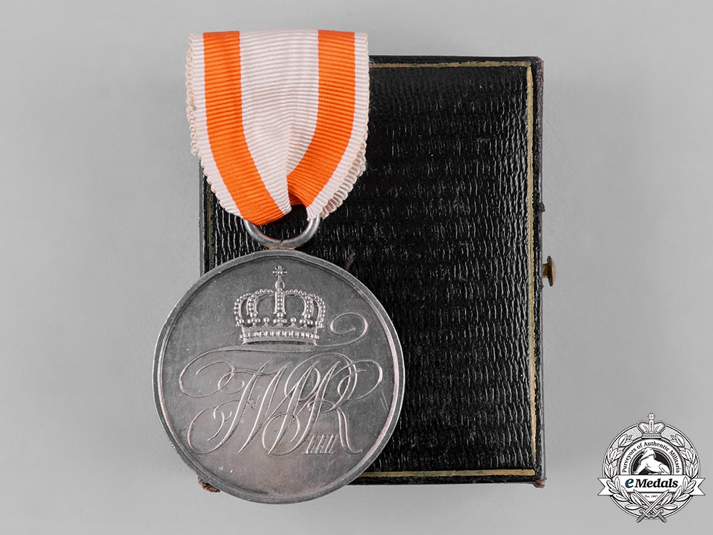 eMedals-Prussia, Kingdom. A General Honour Medal, II Class, with Case