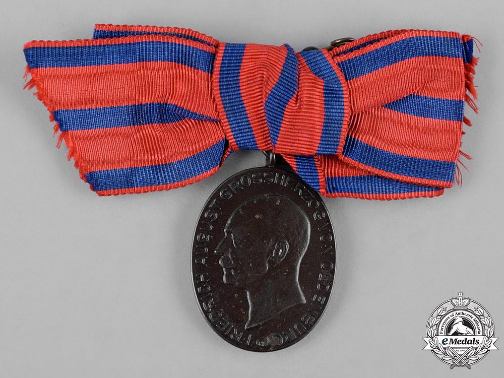 eMedals-Oldenburg, Grand Duchy. A 1916 War Merit Medal