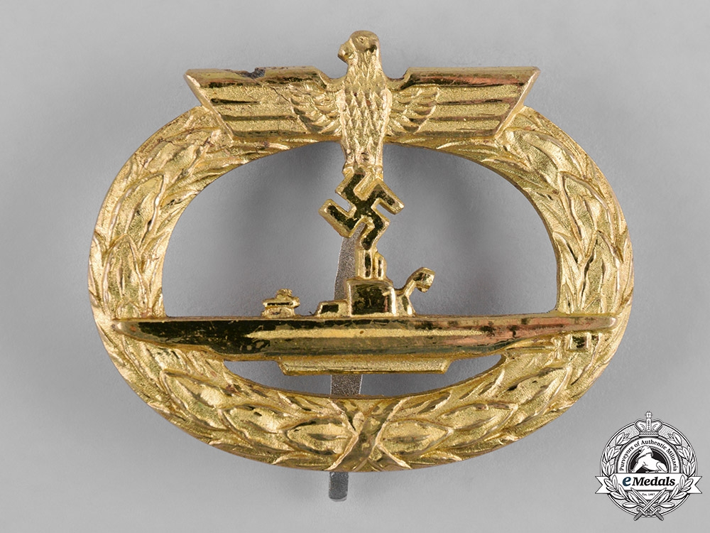 eMedals-Germany, Kriegsmarine. A U-Boat War Badge, by Schwerin
