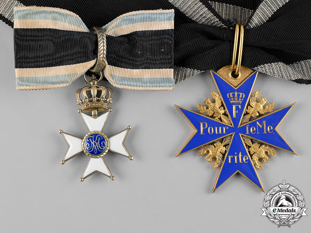 eMedals-Germany, Imperial. A Pour-le-Mérite & Military Max Joseph Order, to General Arnold Ritter von Möhl