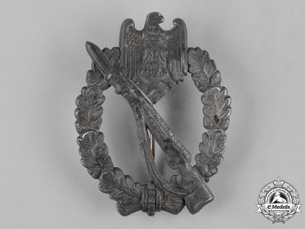 eMedals-Germany, Heer. An Infantry Assault Badge, Silver Grade