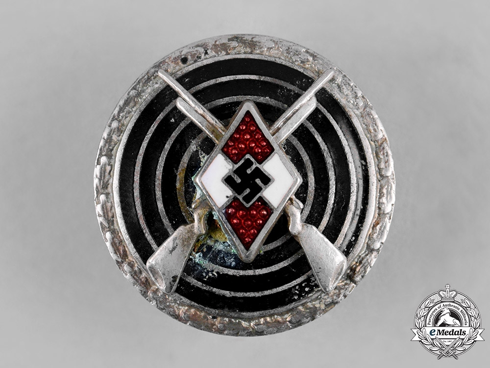 eMedals-Germany, HJ. A HJ Sharpshooter Badge by Frank & Reif