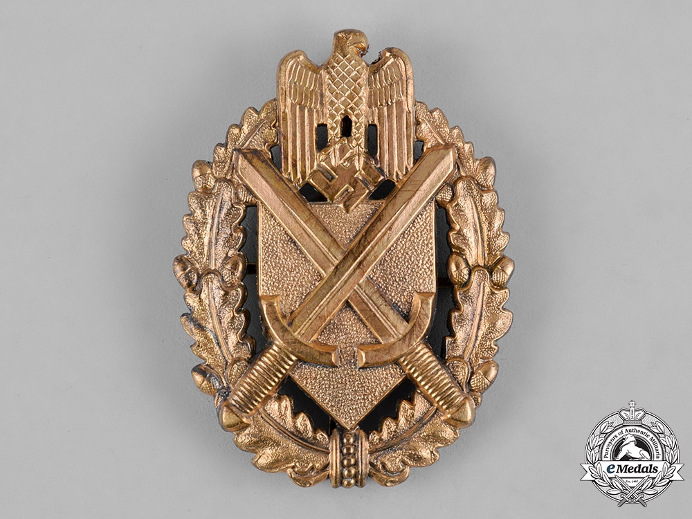 eMedals-Germany, Wehrmacht. A Shooting Lanyard Shield, Grade 9