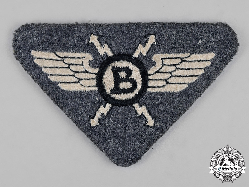 eMedals-Germany, NSFK. A National Socialist Flyer's Corps (NSFK) Radio Operator's Badge