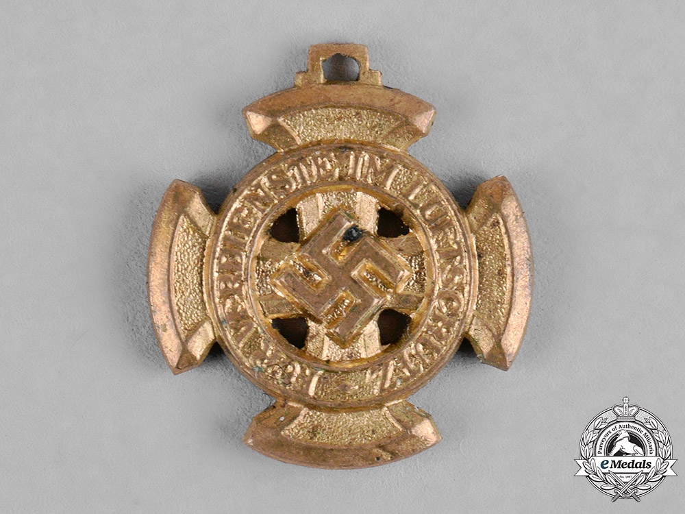 eMedals-Germany, RLB. An Air Raid Defence Medal, I Class Miniature