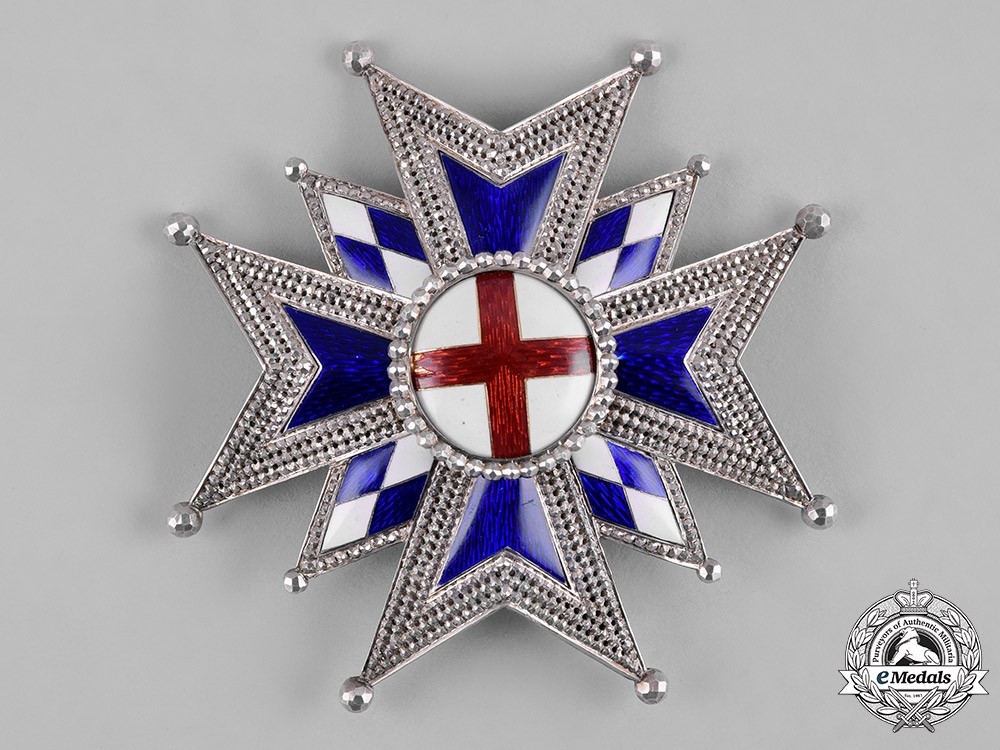 eMedals-Bavaria, Kingdom. A Military House Order of St.George, Grand Cross Star, by Eduard Quellhorst, c. 1858