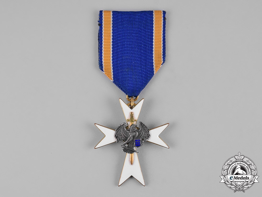 eMedals-Estonia, Republic. A White Cross of the Home Guard, III Class