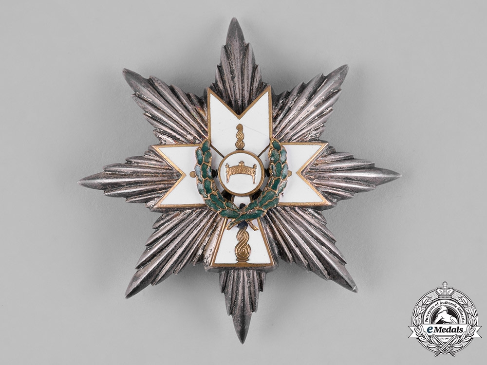 eMedals-Croatia, Republic. An Order of King Zvonimir's Crown, I Class with Oak Leaves Star, c.1942
