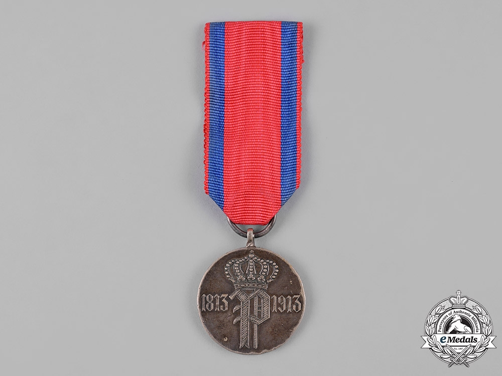 eMedals-Oldenburg, Grand Duchy. A Medal to Commemorate the Centenary of the Oldenburg Infantry Regiment No. 91