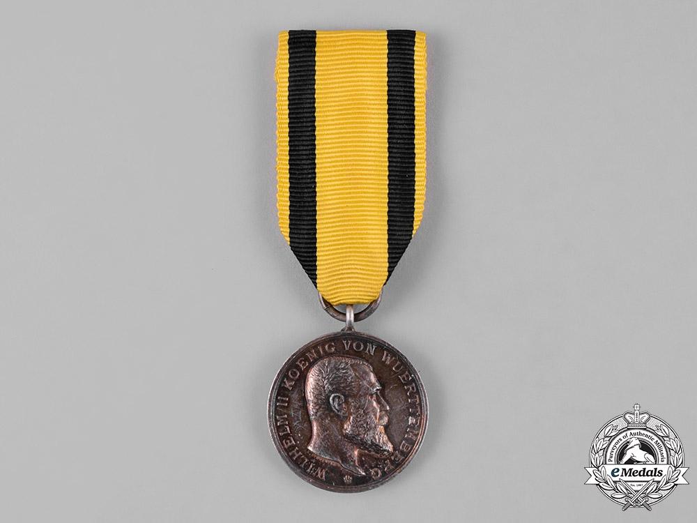 eMedals-Württemberg, Kingdom. A Military Merit Medal, Silver Grade
