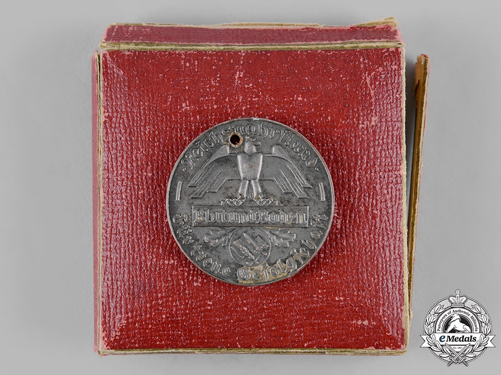 eMedals-Germany, Reichsnährstand. A Cased Farmer's 30-Year Merit Medal