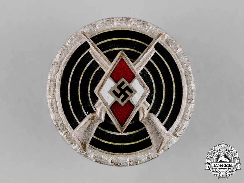 eMedals-Germany, HJ. A Sharpshooter Badge by Steinhauer & Lück