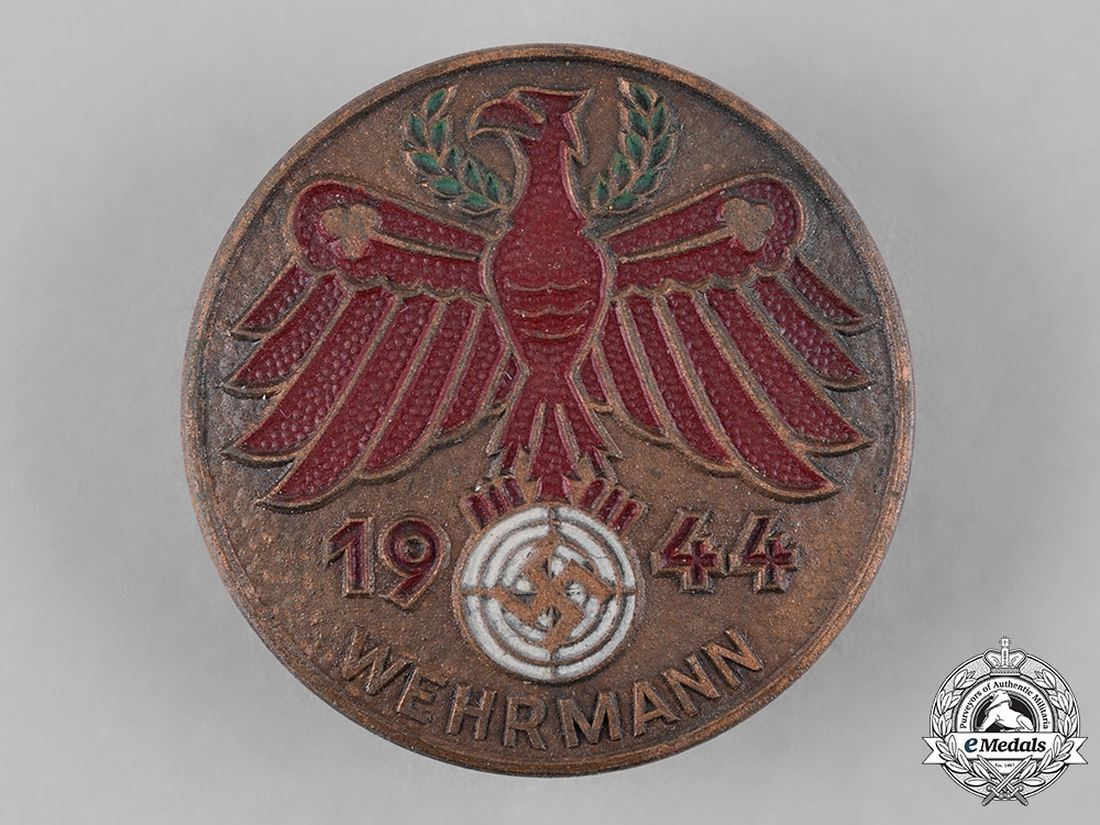 eMedals-Germany, Third Reich. A 1944 Tirol Shooting Badge