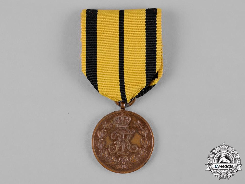 eMedals-Saxony, Kingdom. A Friedrich August Medal in Bronze