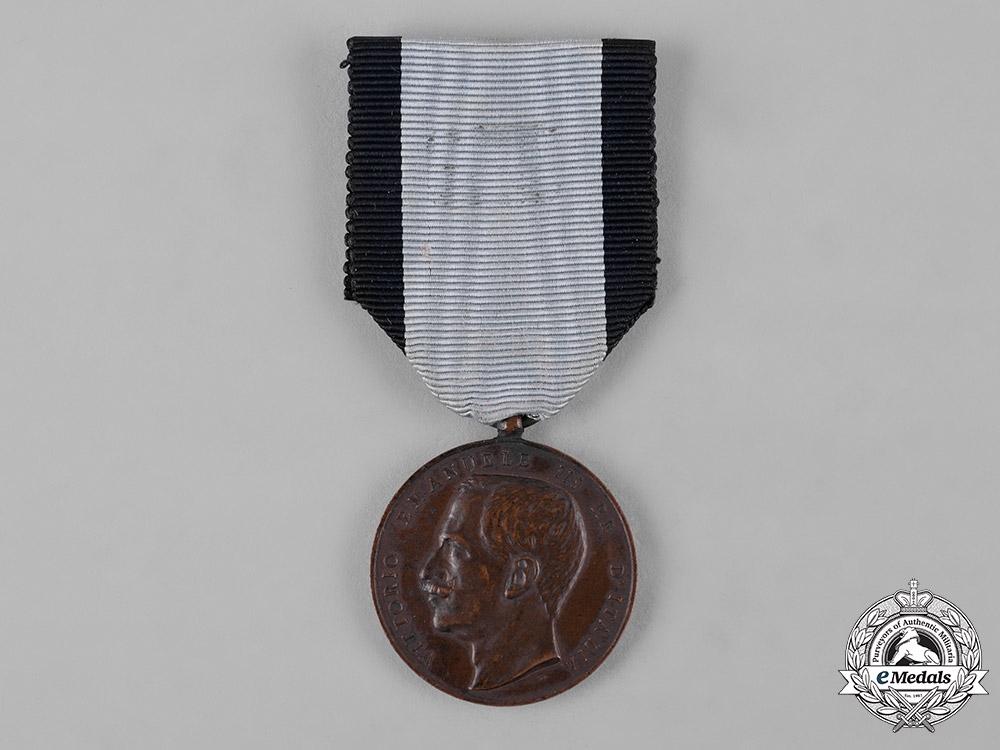 eMedals-Italy, Kingdom. A Medal for Public Welfare, III Class Bronze Grade