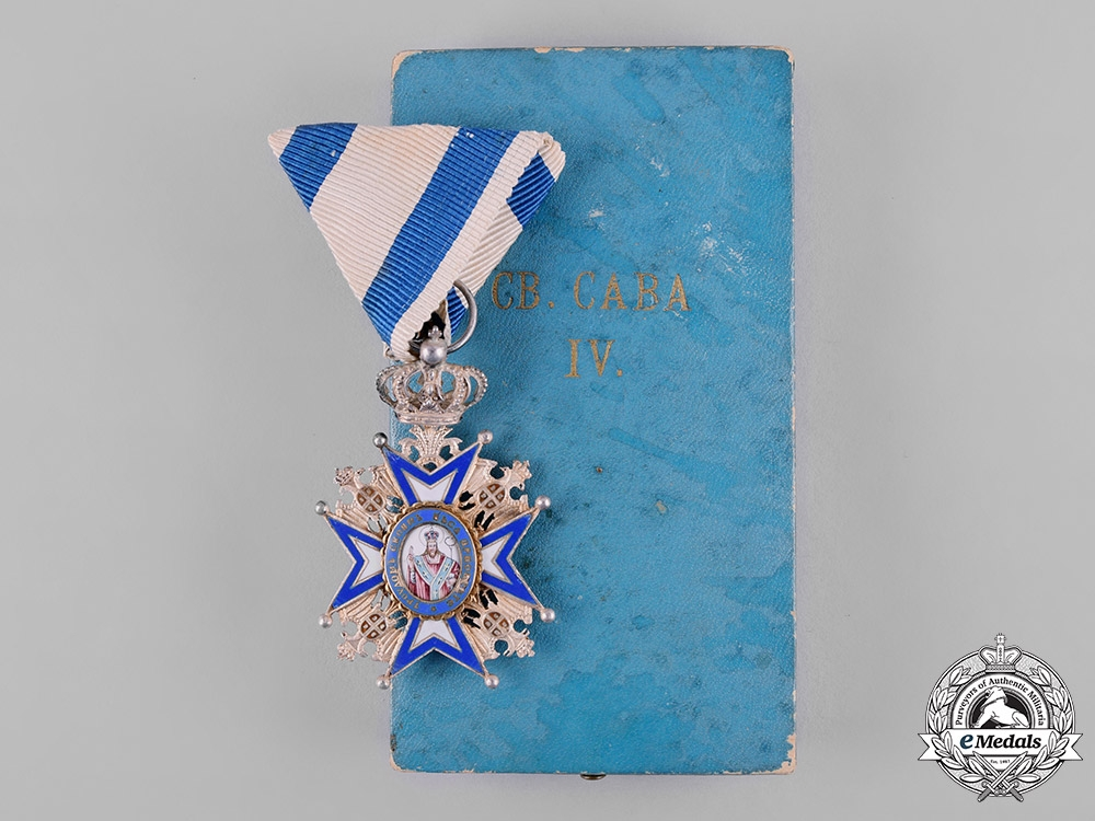 eMedals-Serbia, Kingdom. An Order of St. Sava, IV Class Officer, c.1918