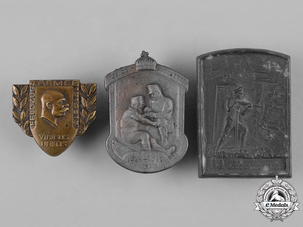 eMedals-Austria, Imperial. A Lot of First War Austro-Hungarian Patriotic Badges