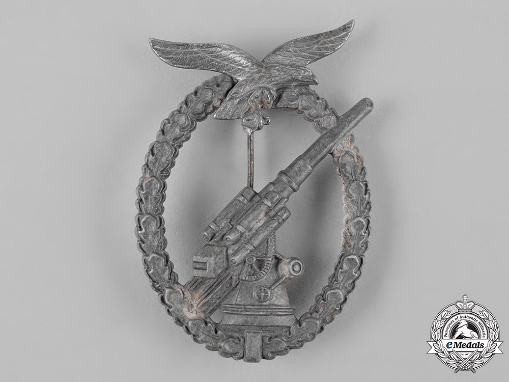 eMedals-Germany, Luftwaffe. A Luftwaffe Flak Badge