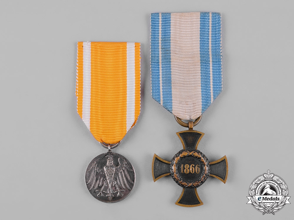 eMedals-Germany, Imperial. A Pair of Imperial Merit Medals