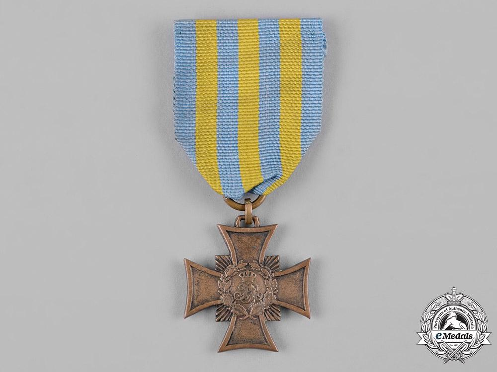 eMedals-Saxony, Kingdom. A War Commemorative Cross for 1866