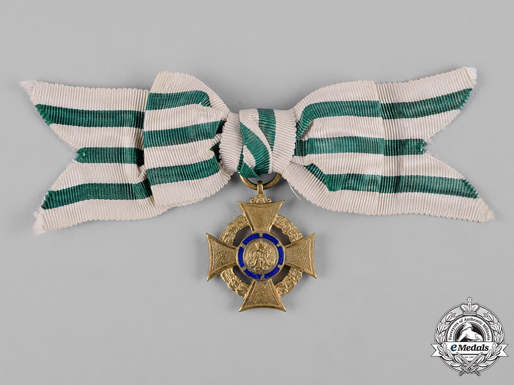 eMedals-Saxony, Kingdom. An Honour Cross for Volunteer Nurses 1914/1917