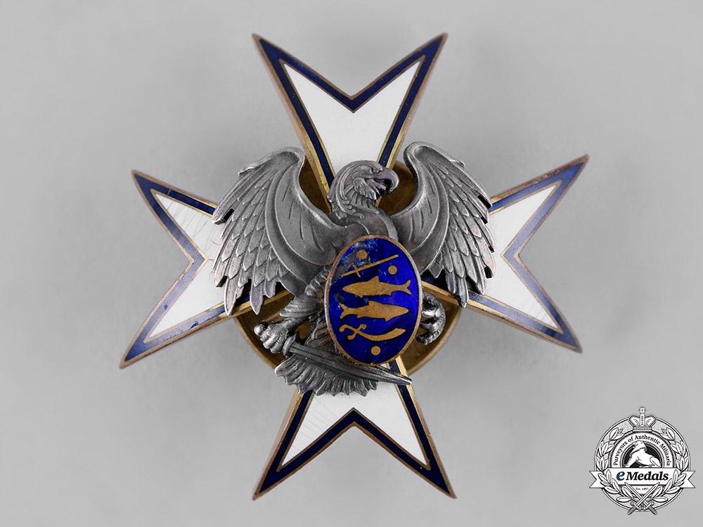 eMedals-Estonia, Republic. A Kaitseliit Defence Force Badge by Roman Tavast of Tallinn