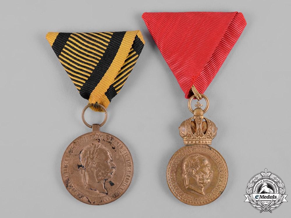 eMedals-Austria, Empire. Two Awards & Decorations