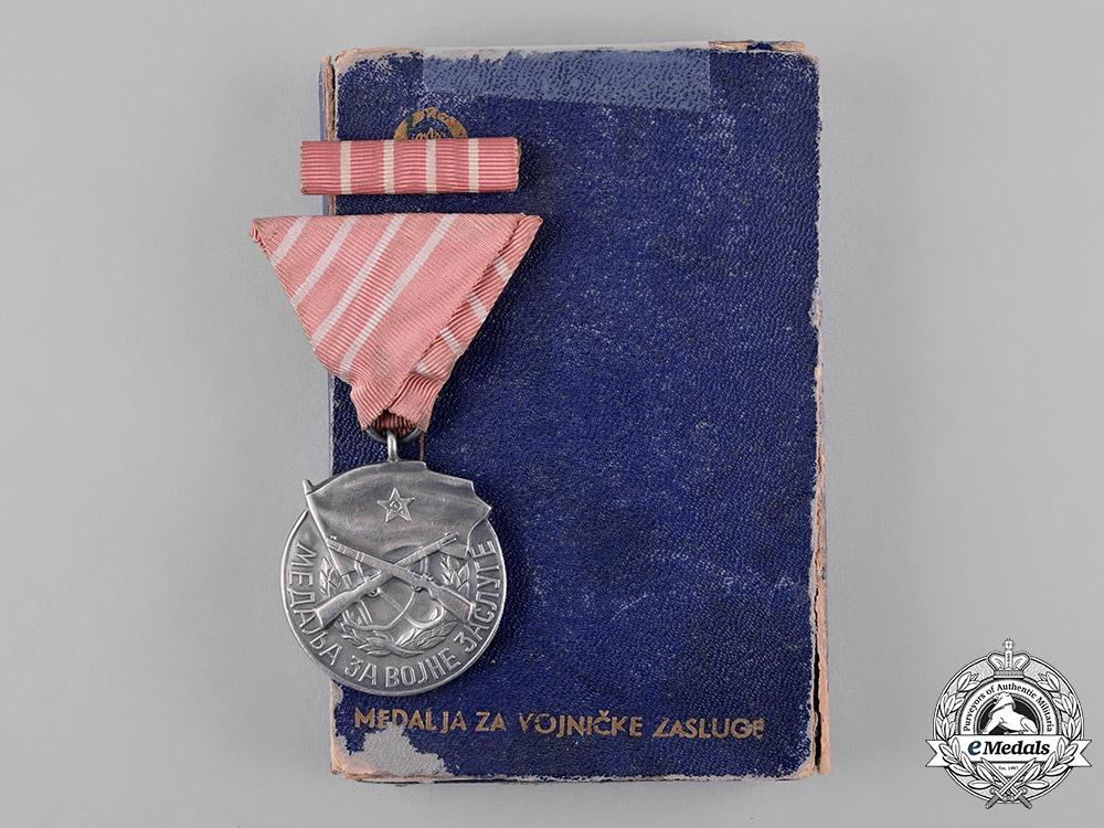 eMedals-Yugoslavia, Socialist Federal Republic. A Medal for Military Merit