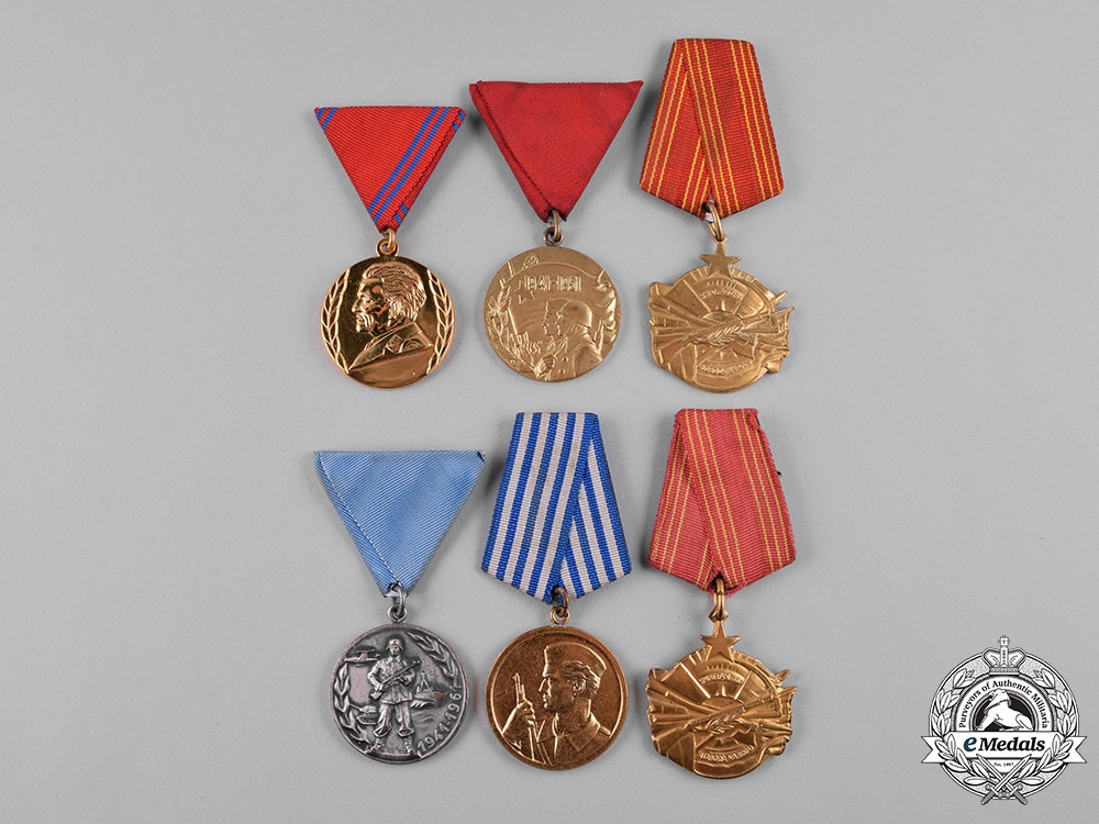 eMedals-Yugoslavia, Socialist Federal Republic. A Lot of Sixteen Medals
