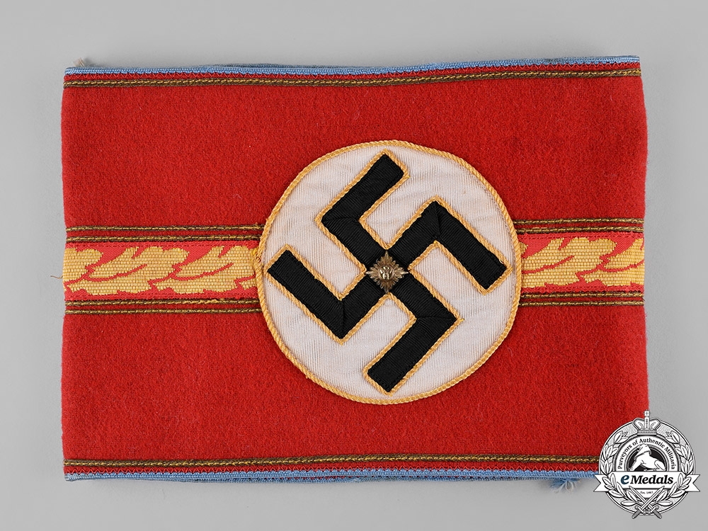 eMedals-Germany, NSDAP. A NSDAP Ortsgruppenleiter Armband