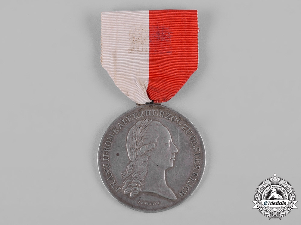 eMedals-Austria, Imperial. A Silver Merit Medal for the Lower Austrian State Contingent, c.1797
